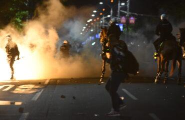 Protestne noči na beograjskih ulicah