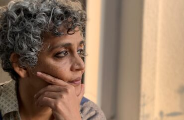 "Arundhati Roy: ""None of us in our living memory have felt so threatened"""