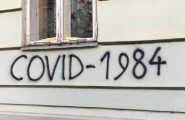 Covid, tovariš: grafiti pandemije