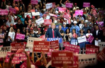 Izbris Donalda Trumpa